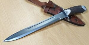 Custom made knife king's Stainless Steel Stag Bowie knife