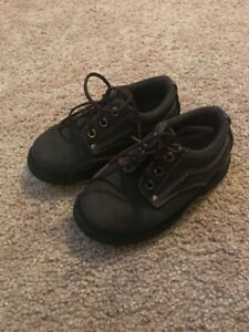 Smart Fit Toddler Boys Brown Lace Up Dress Shoes Size 8