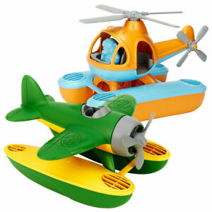 Green Toys Sea Copter and Sea Plane Set