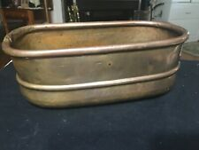 Antique Copper Hand Forged Bowl / Circa 1870
