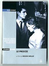 RARE DOUBLE DVD ★ LE PROCES - FILM DE ORSON WELLES ★ COMME NEUF STUDIO CANAL