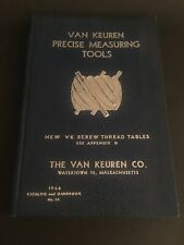 1948 Van Keuren Precision Measuring Tools Handbook no 34