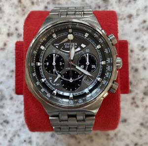 Citizen Calibre 2100 Eco-Drive Chronograph Caliber 2100 Titanium Watch