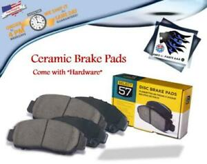REAR LH/RH CERAMIC BRAKE PADS FITS BUICK,CHEVROLET,PONTIAC,OLDSMOBILE (698)