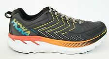 HOKA ONE ONE Clifton 4 Running Shoes Castle Rock & Atomic Blue Mens Size 12