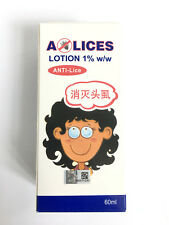 HOE - A-Lices Lotion 1% w/w  For Treatment Head Lice and Scabies 60ml