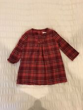 Burberry Baby Girls Plaid Dress In Size 18 Months