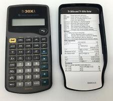 Texas Instruments Ti-30XA Solar Power Scientific Calculator School Math Science