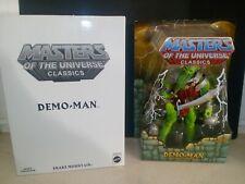 Demo-Man MOTU Masters of the Universe Classics MIB Mattel Mattycollector 2011