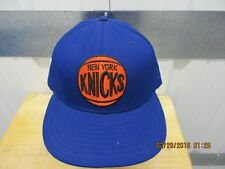 VINTAGE NEW ERA CLASSIC NBA NEW YORK KNICKS SEWN BLUE 71/2 FITTED CAP NWOT