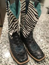 Womens Ariat Cowboy Boots Size 8B