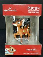Hallmark Rudolph The Red Nosed Reindeer Christmas Tree Ornament New Red Box
