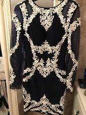 Faust Couture Embellished Dress (like Balmain)