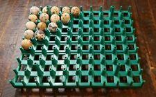Chukar Partridge Jumbo Quail Egg Stackable Tray For Cabinet Incubator Chuck 80