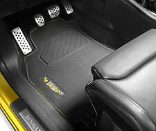 New GENUINE Renault Sport MEGANE III RS floor mats carpet velor embroidere logo