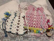 Drawstring Handbag Pattern #FP1 Linda's Family of Macrame Purses