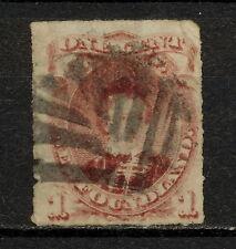 (NNAV 186) NEWFOUNDLAND 1877 USED MICH 27