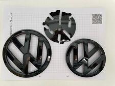 VW Golf 7 VII Vorfacelift VFL Front & Heck Emblem Logo Zeichen Schwarz Etc.