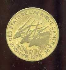 AFRIQUE CENTRALE  5  francs 1973 ( bis )