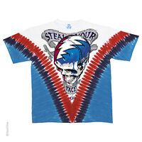 New GRATEFUL DEAD Steal Your Face Tie Dye T Shirt