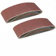 Schleifband Schleifbänder 10 St. für Bandschleifer AEG HBS 1000 E HBSE 75 S