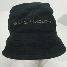 Smash Mouth Bucket Hat Merch Black Frontier Cap Forte Gear Size M/L 90's