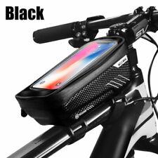 Bicycle Bag Waterproof Front Bike Cycling Bag 6.2 inch Mobile Phone Bicycle Top