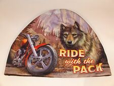 Wolf Coyote Ride With Pack Biker Beanie Cap Stocking Winter Hat Free Shipping