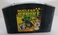 Nuclear Strike 64 (Nintendo 64) Tested & Authentic N64