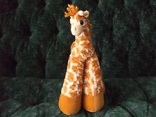 """12"""" Bestever plush Giraffe very big feet"""