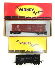 Varney NICKEL PLATE HOPPER & #2465 B&O BOX CAR HO Scale  S05