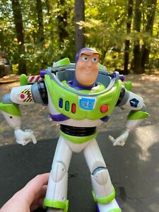 "Vintage Thinkway 12"" Buzz Lightyear Ultimate Talking Action Figure Toy Story"