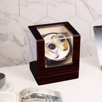 Automatisch Uhrenbeweger Uhrenbox Uhrenkasten Watchwinder Box Holz Für 2 Uhren