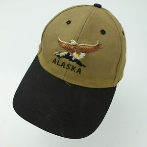 Alaska Eagle Ball Cap Hat Adjustable Baseball Adult