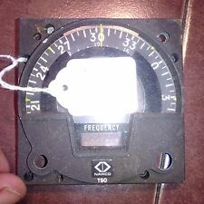 Narco Nav 11 and Nav 12 Front Faceplate with Compass Rose Wheel