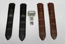 New Cartier Ballon De Bleu Genuine leather strap - width 18mm / 20mm