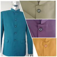 Men's Designer Jodhpuri Suit Blazer Party Wear Wedding Blazer Coat