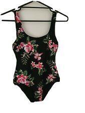 *BILLABONG*Black Floral *One piece Bathers*Size 12*Excellent Condition
