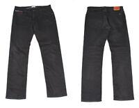 Tommy Hilfiger Ryan Schwarz Denim Gerade Bein Herren Jeans W36 L34