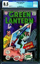 Green Lantern #54 CGC 8.5 -- 1967 -- Kane Anderson cvr. Missile Man #1298732010
