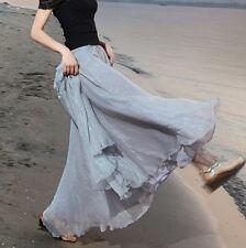 Gonna Lunga e Vestito Donna - Woman Maxi Skirt and Dress - Chiffon 130002 P