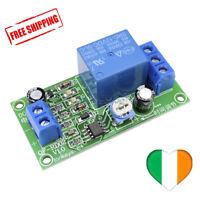Módulo de relé Interruptor temporizador de retardo NE555 0-60 segundos Arduino