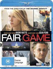 Fair Game (BLU-RAY) Naomi Watts Sean Penn, Region B