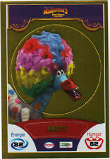 Vignette de collection autocollante CORA Madagascar 3 n° 74/90 - Marty