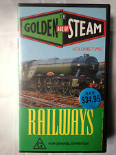 THE GOLDEN AGE OF STEAM~RAILWAYS~VOLUME TWO~RARE VHS VIDEO ~ BRAND NEW & SEALED