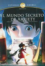El Mundo Secreto De Arriety / Secret World Of Arriety DVD NEW Ghbli SEALED