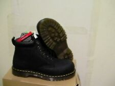 Dr martens boots forge st awwoblk Black size 8 us steel toe new with box
