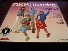 "DK KARAOKE 12"" LASER DISC MULTIPLEX VOL 7 SOUNDS OF THE 70'S VOL 1 DKC-7 SEALED"