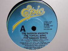 "Barron Knights ""The Topical Song"" (Logical Song) Oz 7"""