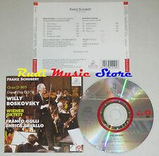 CD WILLY BOSKOVSKY FRANCO GULLI violino ENRICA CAVALLO franz schubert  lp mc dvd